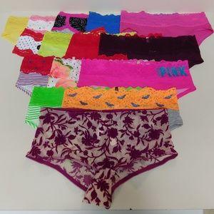 NWT Victoria's Secret Panties, Bundle of 15 Size S